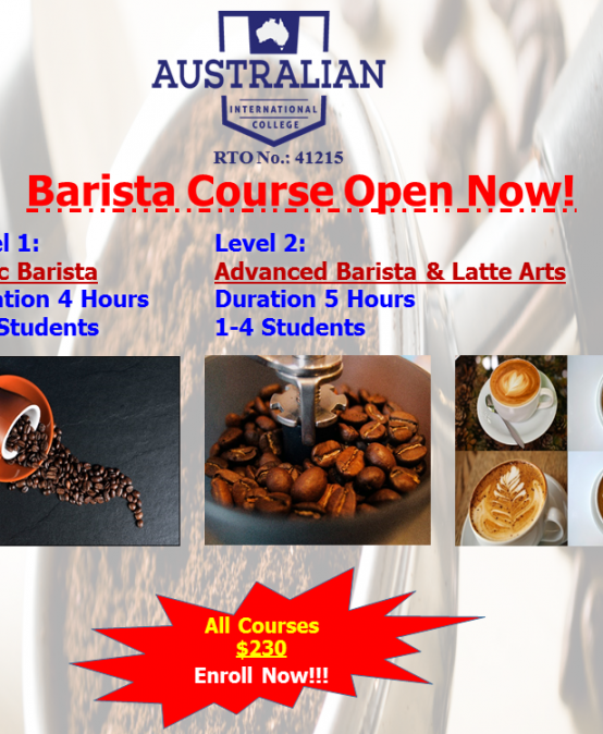 :: Become A Professional Barista ::