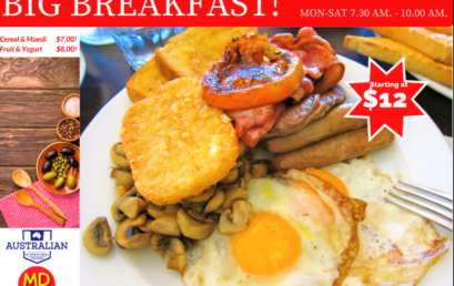 Big Breakfast available now!